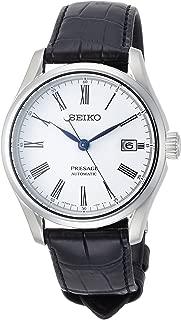 [セイコーウォッチ] 腕時計 プレザージュ 琺瑯ダイヤル メカニカル デュアルカーブサファイアガラス SARX049 メンズ ブラック