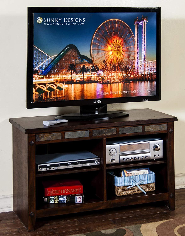 Sunny Designs Santa Fe - Consola de televisión de Chocolate Oscuro: Amazon.es: Juguetes y juegos