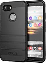 Pixel 3 Case, Crave Strong Guard Protection Series Case for Google Pixel 3 - Black