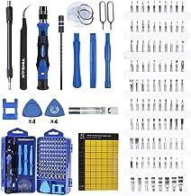 YINSAN 120 en 1 Juego de Destornilladores de Precisión con Magnetizador, Kit de Herramientas de Reparación de Bricolaje Pr...