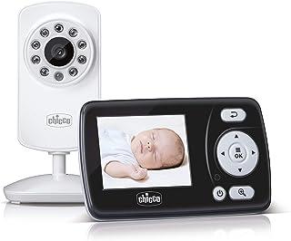 Chicco - Smart Video Babyfoon - 2,4 inch LCD-kleurenscherm - 200m Bereik - Nachtvisie - Stemactivatie - Herlaadbare Batter...