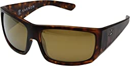 Matte Tortoise/Brown 12 Polarized Gold Mirror