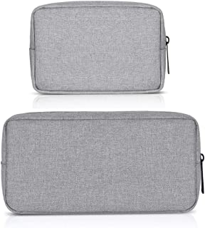 ERCRYSTO Universal Electronics/Accessories Soft Carrying Case Bag, Durable & Light-Weight,Suitable for Out-Going, Business...