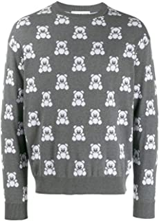 Luxury Fashion | Moschino Mens V090952011507 Grey Sweatshirt | Autumn-Winter 19