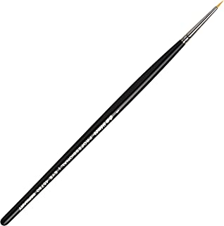 da Vinci Cosmetics Series 45750 Professional Eyeliner Brush, Pointed Round Synthetic, Size 1, 9.5 Gram