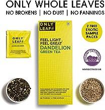 Onlyleaf Dandelion Green Tea, 27 Tea Bags (25 Tea Bags + 2 Free Exotic Samples)