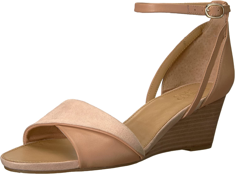 Franco Sarto Womens Deirdra Wedge Sandal