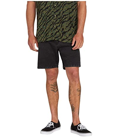 Volcom Steppen EW Shorts 17 (Black) Men