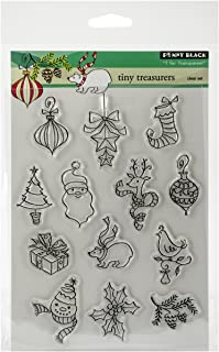 Penny Black 30-268 Decorative Rubber Stamps, Tiny Treasures