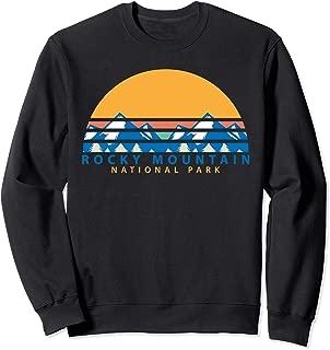Rocky Mountain National Park-Colorado Souvenir-Hiking Sweatshirt