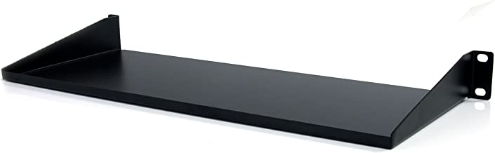 StarTech.com 1U Server Rack Mount Shelf - 7in Deep Fixed Steel Universal Tray for 19