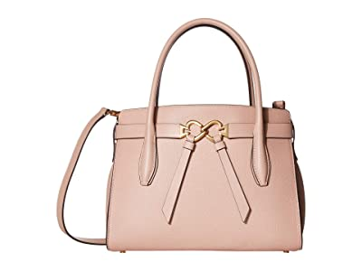 Kate Spade New York Toujours Medium Satchel (Flapper Pink) Bags