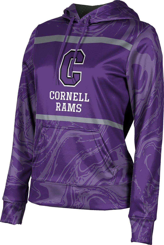 ProSphere Cornell College Girls' Pullover Hoodie, School Spirit Sweatshirt (Ripple)