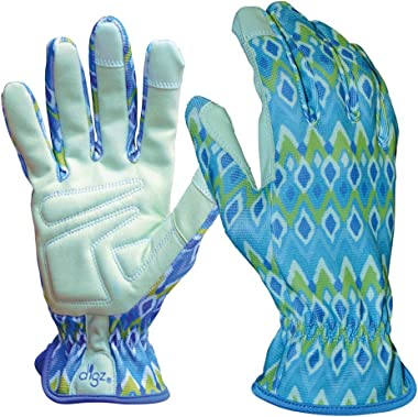 DIGZ Planter Pro Women's Gardening Gloves and Work Gloves with Touch Screen Compatible fingertips, Medium