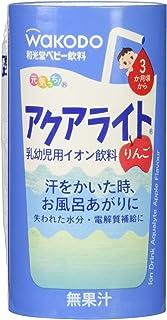 Wakodo Ion Drink Aqualyte Apple Flavor, 3X125ML