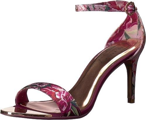 Ted Baker damen& 039;s MYLLI Heeled Sandal, Serenity Satin, 8 M US