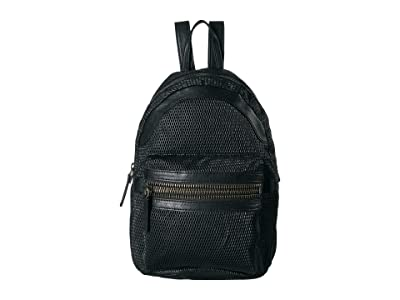 Frye Lena Perf Backpack (Black) Backpack Bags