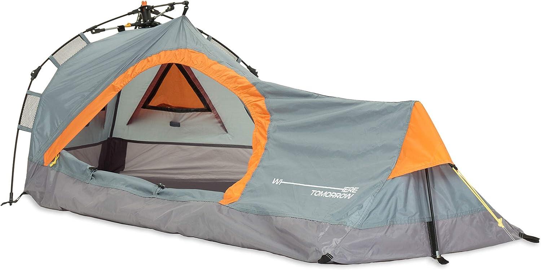 Wurfzelt Camping Wasserdicht Camouflage Trekking Zelt 200 x100x100cm Camping Zel