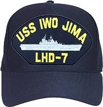 USS Iwo Jima LHD-7 Ships Ball Cap