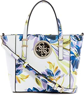 Guess Women's Open Road Mini Tote – Weiß Floral