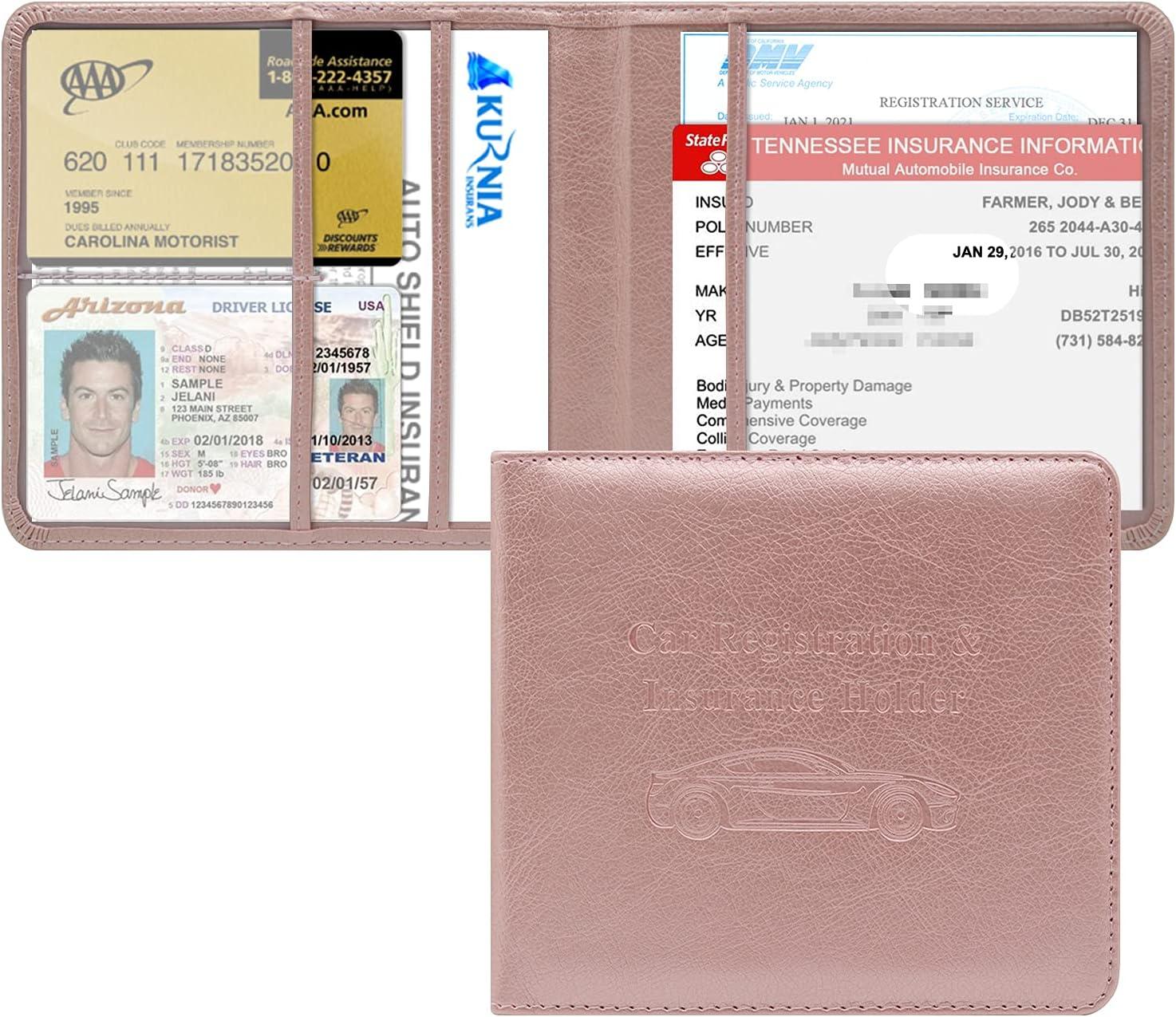 Car Registration and Insurance Holder Box Org Popular overseas Soldering Glove Vehicle