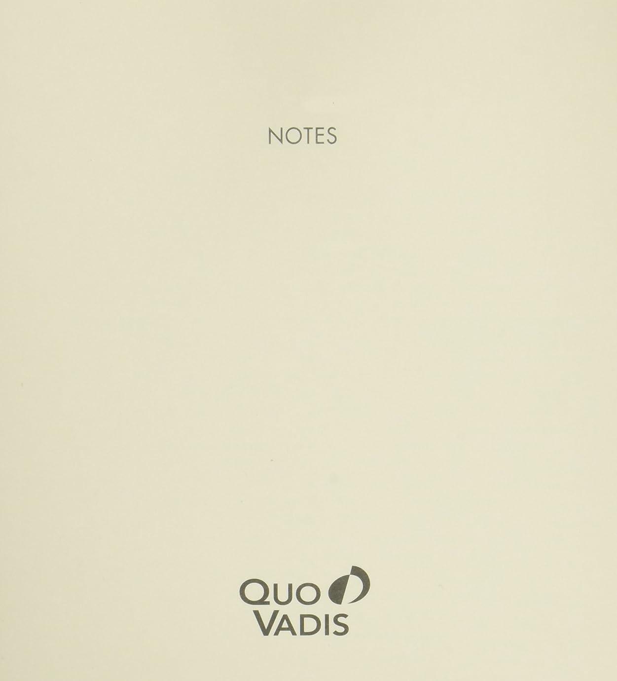 名前で血まみれの苦情文句クオバディス ノート 3冊パック 16x16cm用 アイボリー qvnotep16x16