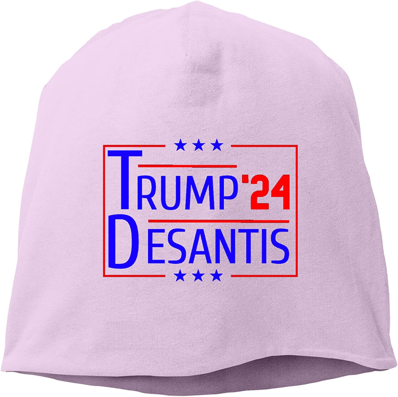 chenhe Trump Desantis '24 3 Detroit Mall Hedging Cap Knitted Hat,Unisex Oakland Mall