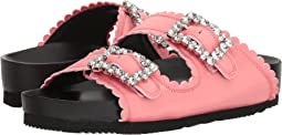 Jewel Buckles Flat Sandals
