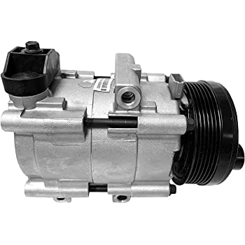 AUTEX AC Compressor and Clutch Assembly CO 101290C AC Replacement for Mustang 1996 1997 1998 1999 2000 2001 2002 2003 2004 2005 2006/Town Car 1994 1995 1996 1997 1998 1999 2000 2001 2002