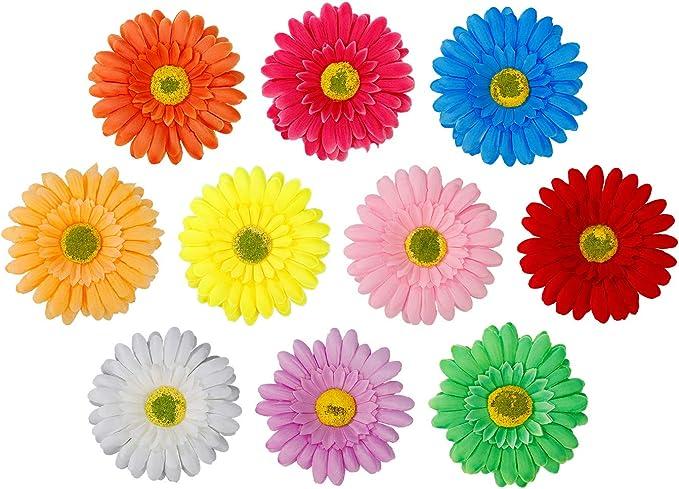 31 opinioni per Fermaglio per Capelli Multicolore Fiore del Sole Nuziale Fiore Capelli Clip