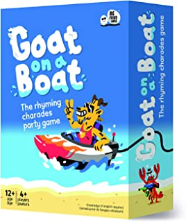 Goat on A Boat: for A Hilarious Family Board Game Night