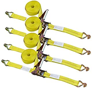 Ratchet Tie Down Strap - 4 Pack 2
