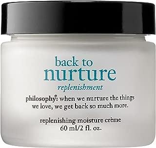 Philosophy Back To Nurture Deeply Replenishing Moisture Creme By Philosophy 2 Oz Moisturizer For Unisex