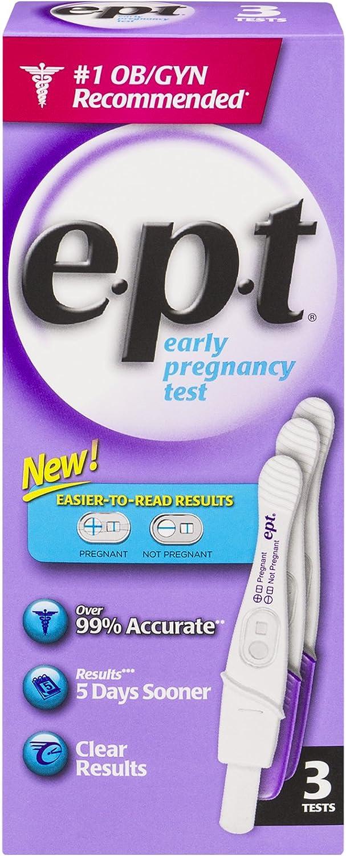 e.p.t. Analog Early Pregnancy Test 3 Each