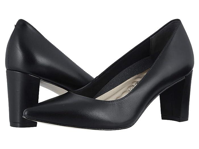 Walking Cradles  Samantha (Black Leather) Womens  Shoes