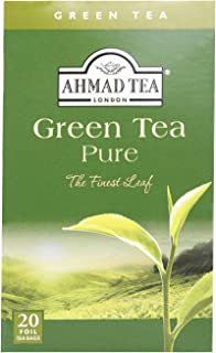 Ahmad Tea Green Pure, 20 Tea Bags