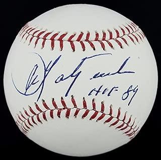 Signed Carl Yastrzemski Baseball -