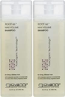 Giovanni Root 66 Max Volume Shampoo - 8.5 oz - 2 pk