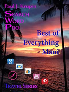 Maui, Hawaii – The Best of Everything - Search Word Pro (Travel Series) (English Edition)