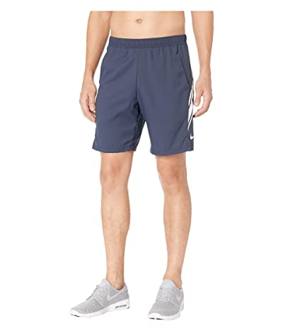 Nike NikeCourt Dry Shorts 9 (Obsidian/White/White) Men