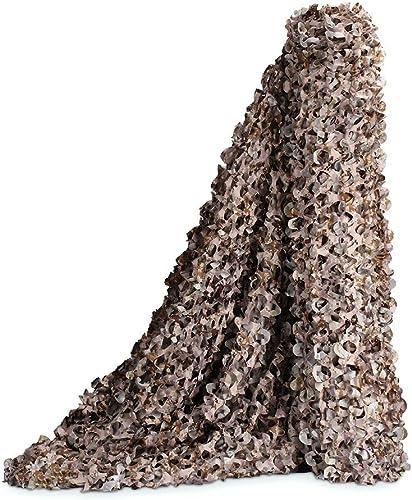 WNpb 2m × 3m Filet de Camouflage du Désert Filet de Camouflage, Camouflage Militaire Chasse écran de Tir écran Caché, Décoration de Soirée à Thème, Hotte de Camouflage Capot (Taille   4m×6m)