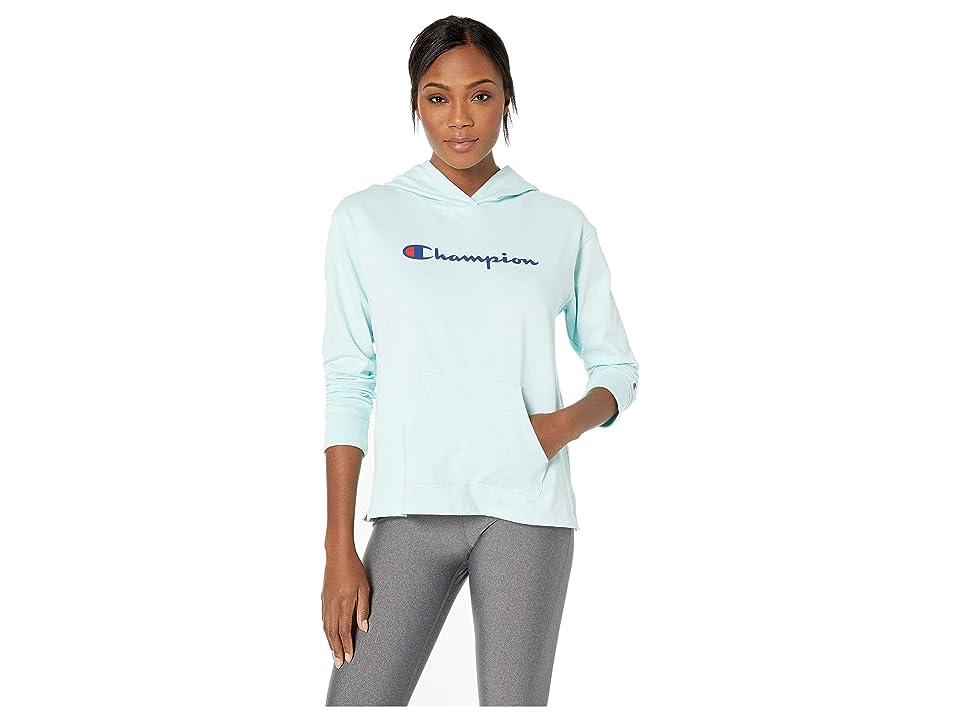 Champion Heavyweight Pullover Jersey Hoodie (Blue Spearmint) Women