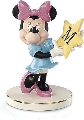 Lenox Disney's You're A Shining Star, Minnie- M, Monogram