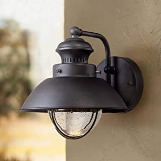 Fordham Rustic Outdoor Wall Light Fixture LED Black 8