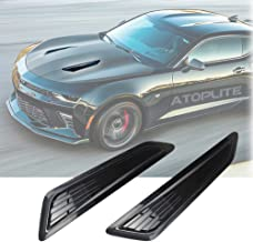 Air intake trim panel with 3M Tape installed on the Hood fits 2016-2018 Chevy Camaro 1LT/ LS/RS