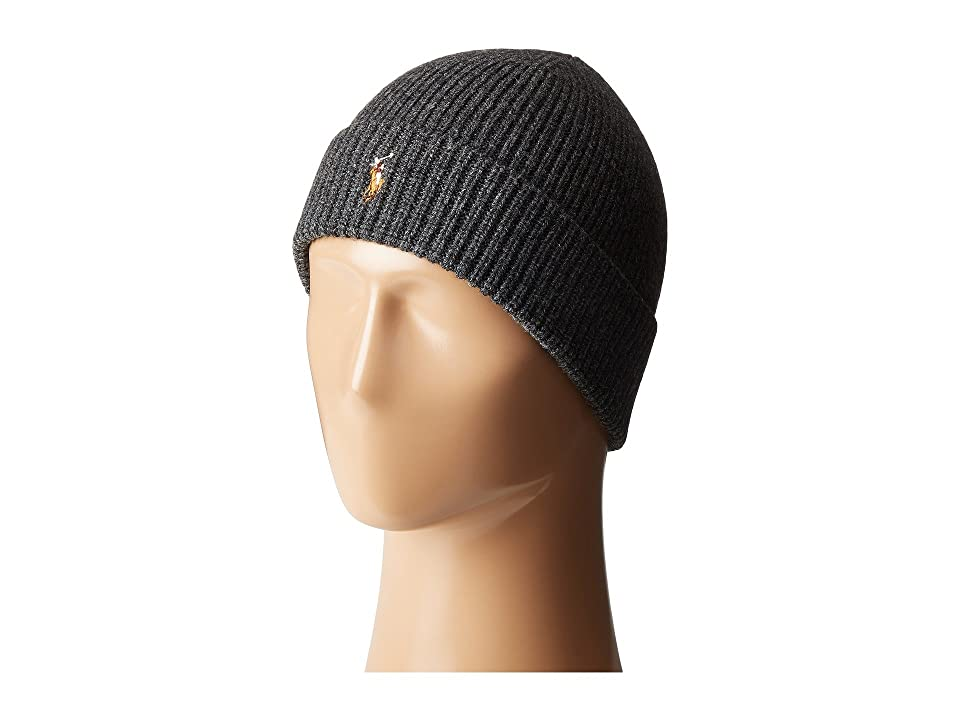 449eb11d UPC 020204376930 product image for Polo Ralph Lauren - Signature Merino Cuff  Hat (Coal Heather ...