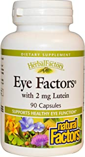 Natural Factors, Eye Factors with 2mg Lutein, 90 Capsules