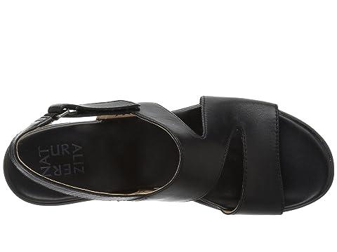 LeatherSaddle Metallic LeatherChampagne Valerie Leather Black Naturalizer nxq0F4pwU4