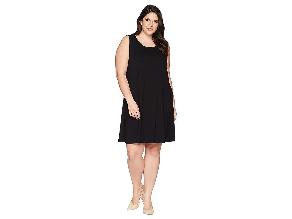 Karen Kane Plus Plus Size Chloe Dress (Black) Women