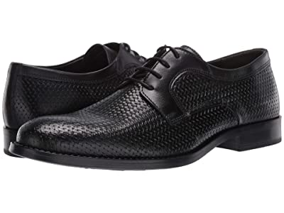 Steve Madden Maintain Oxford (Black Leather) Men